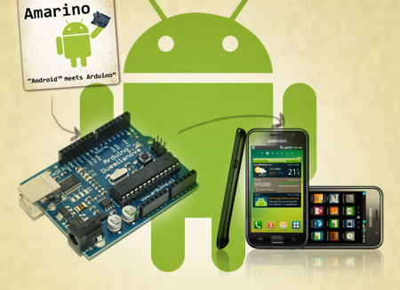 Amarino_control app - sensor graph