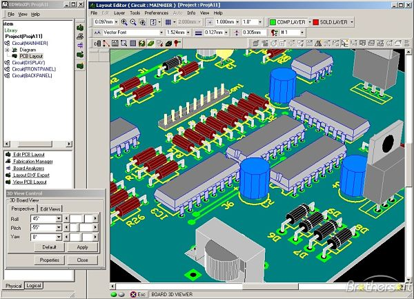 Useful tools for drawing electrical circuits smashing robotics edwinxp is an eda software which includes modules for drawing simulation and testing of electronic circuits and sports a friendly interface that creates a cheapraybanclubmaster Gallery