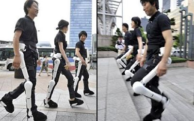 Hybrid Assistive Limb Exoskeleton