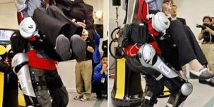 How Hybrid Assistive Limb (HAL) Exoskeleton Suit Works