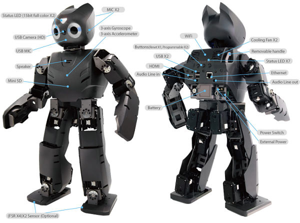 Thirteen Advanced Humanoid Robots for Sale Today - Smashing Robotics