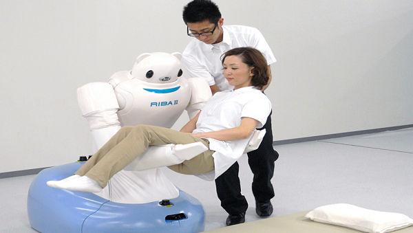 RIBA-II humanoid robot