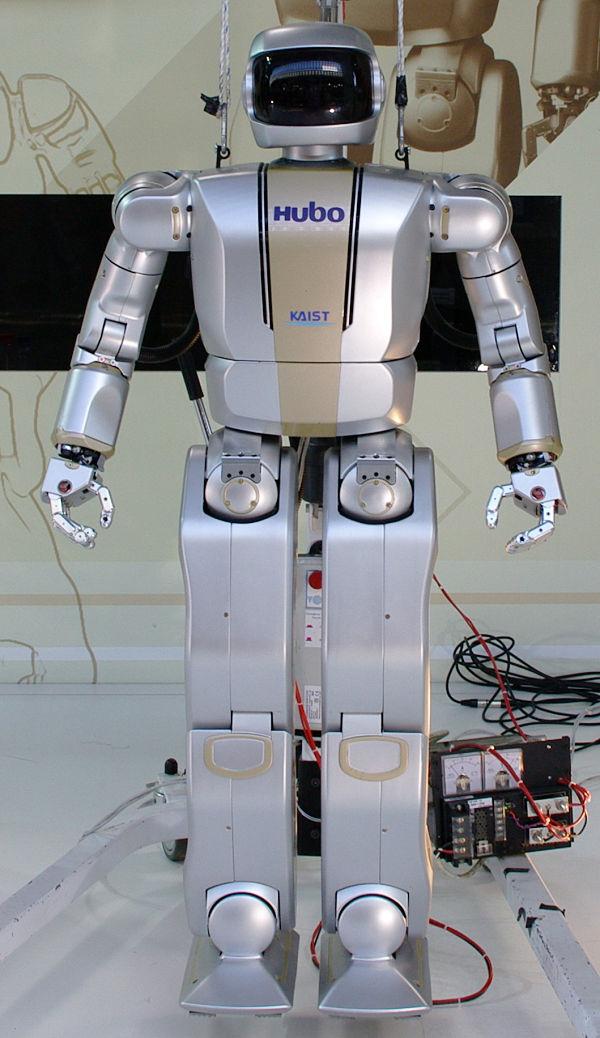 HUBO-2 humanoid robot