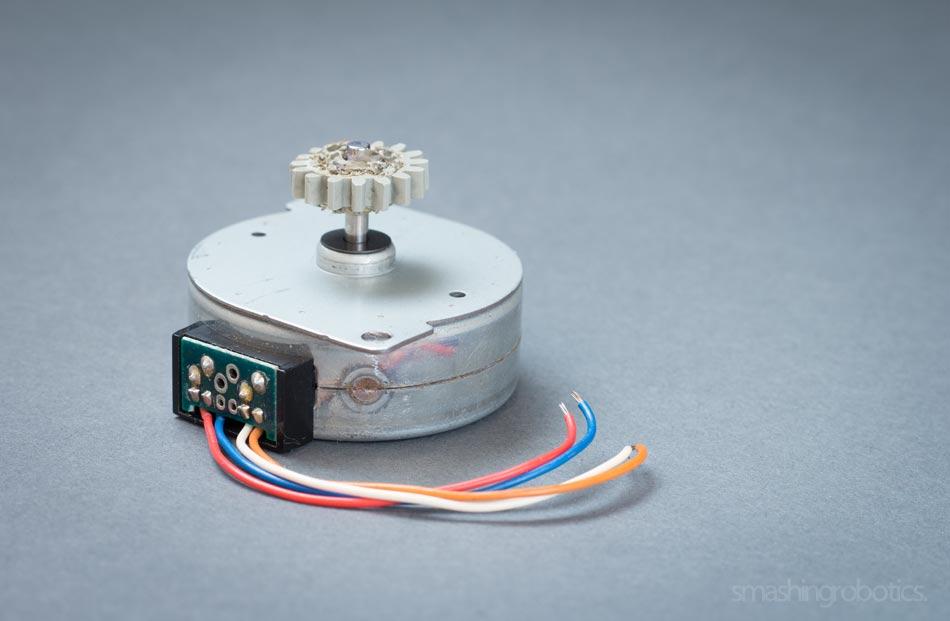 4-wire Bipolar Stepper Motor
