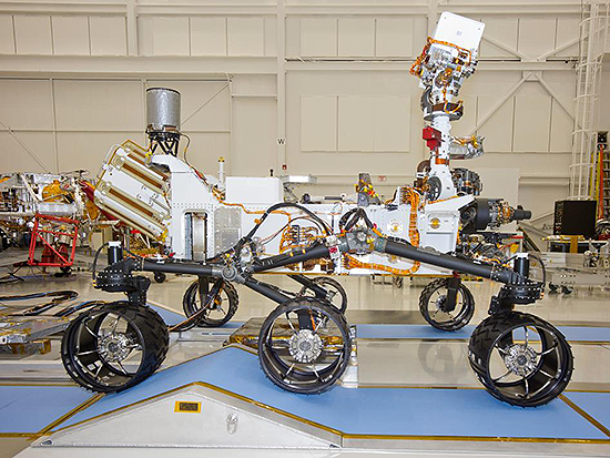 Curiosity – NASA's Mars Science Laboratory Mission Robot