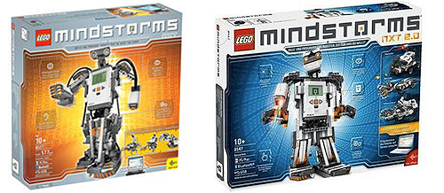 Mindstorms NXT 8527 and 8547