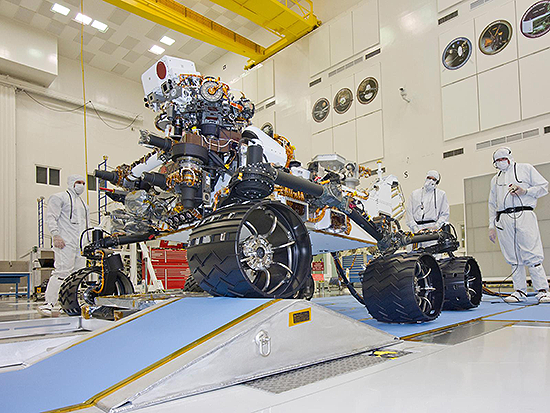 Curiosity - NASA's Mars Science Laboratory Mission Robot ...