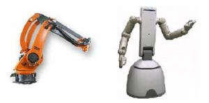 Industrial Robots versus Service Robots