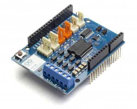 Adafruit motor stepper servo shield for arduino v2 for Adafruit motor shield arduino