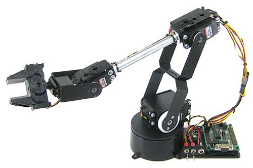 Lynxmotion AL5 Series Robotic Arm Kit