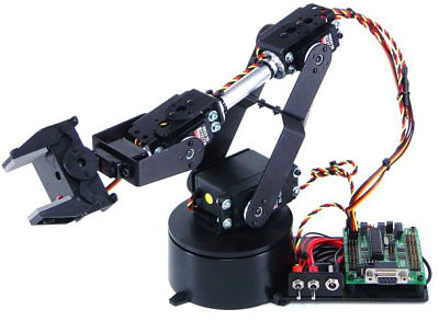 AL5D Robotic Arm Kit with RIOS
