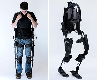 Ekso robotic exoskeleton