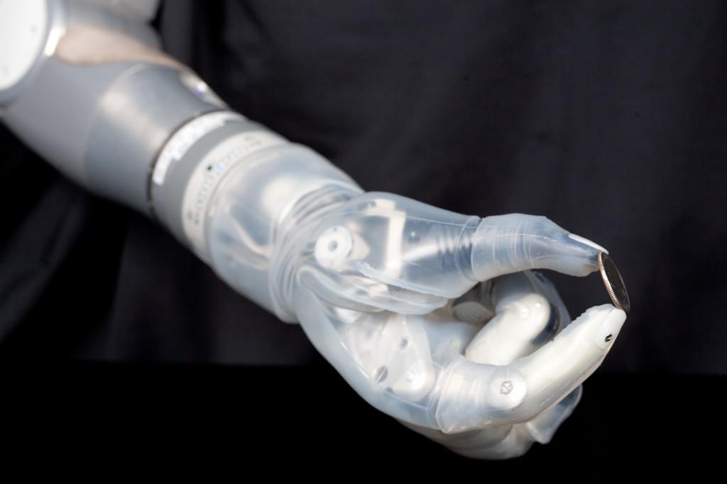Photo: DARPA | DEKA Arm System prosthetic limb