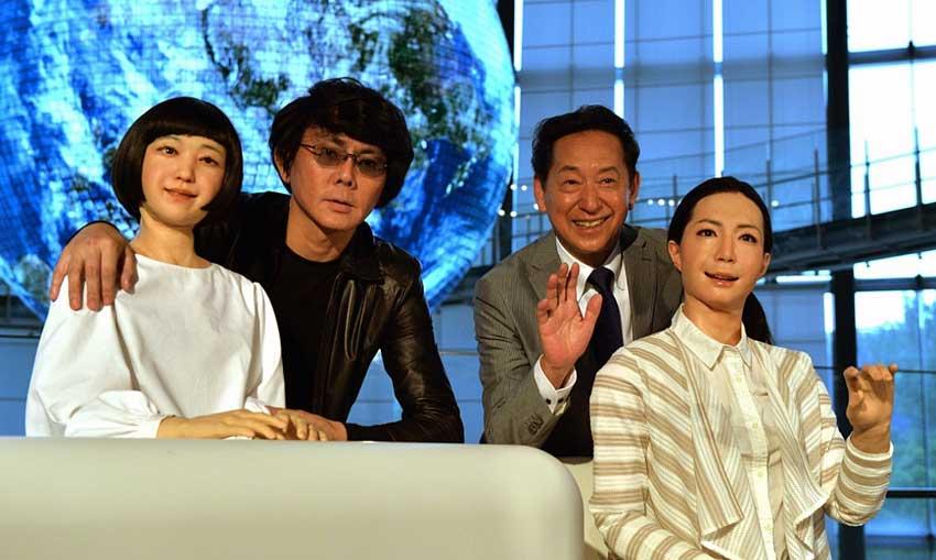 Ishiguro, Mori and Androids