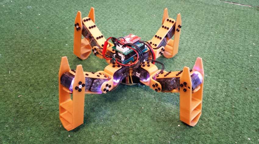 Spidey Robot