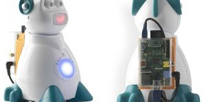AIsoy1 emotional programmable robot with Raspberry Pi