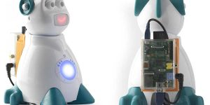 AIsoy1 Emotional Robot Powered by Raspberry Pi