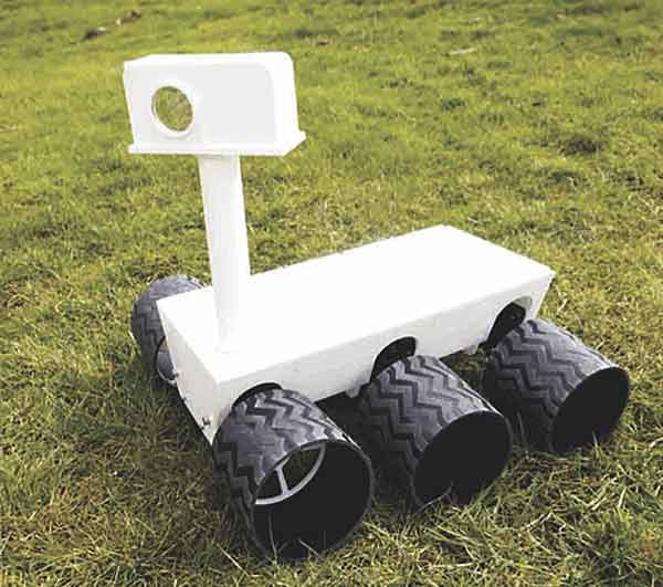 Remote controllable Mars Rover Replica