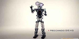 Meccanoid G15 KS: Build and Program Your Own Humanoid Companion