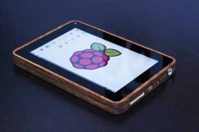 PiPad Custom Tablet with Raspberry Pi