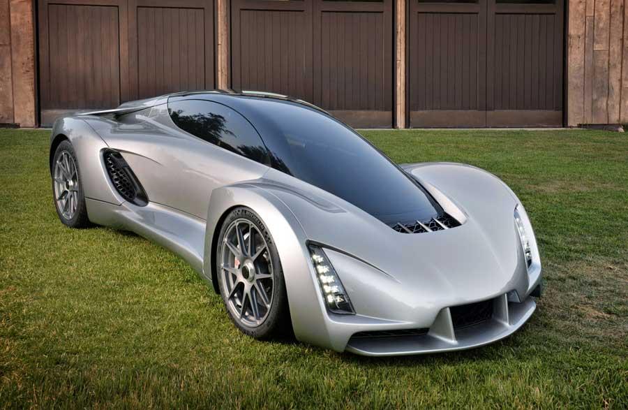 Blade 3D printed supercar