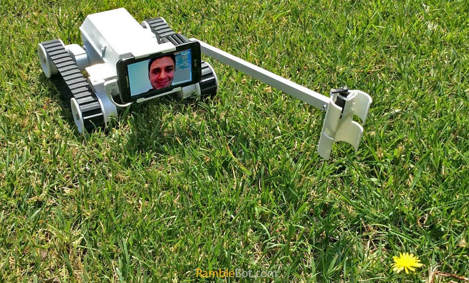 RambleBot Telepresence Robot