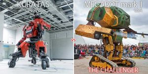 World's first giant robot duel will happen eventually