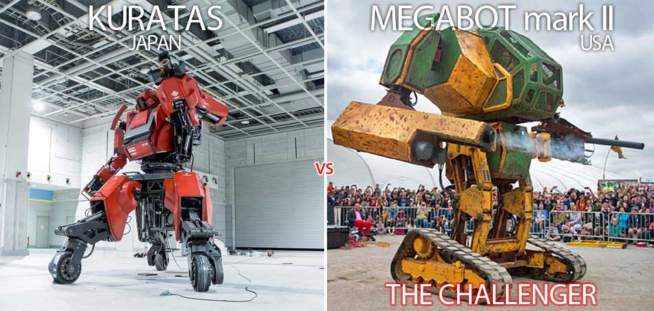 Kuratas vs. Megabot mark II