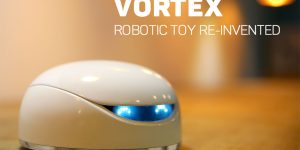Vortex Robot Teaches Your Kids how to Program