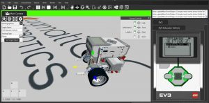 Virtual Robotics Toolkit - an Advanced LEGO Mindstorms Simulator