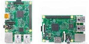 Raspberry Pi 2 and Pi 3