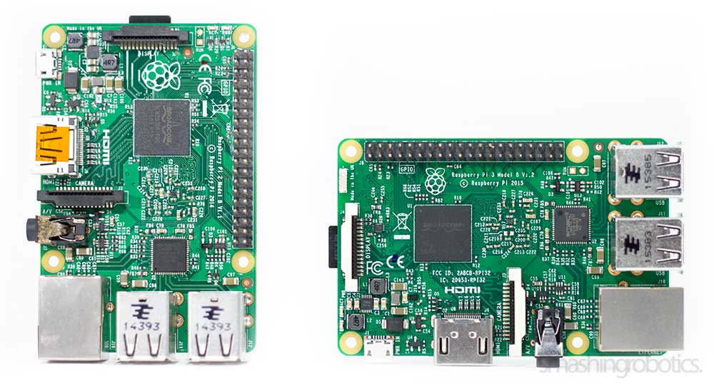 Raspberry Pi 2 and Pi 3