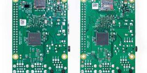 Raspberry Pi 3 and Pi 2 comparison - bottom