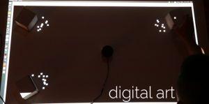Digital art with Sweep LIDAR sensor