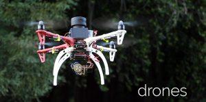 Sweep scanning LIDAR sensor on UAV