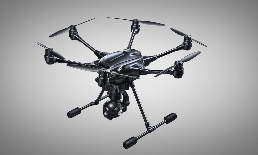 Yuneec Typhoon H with Intel RealSense