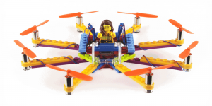 Flybrix lets you build aerial drones with LEGO bricks