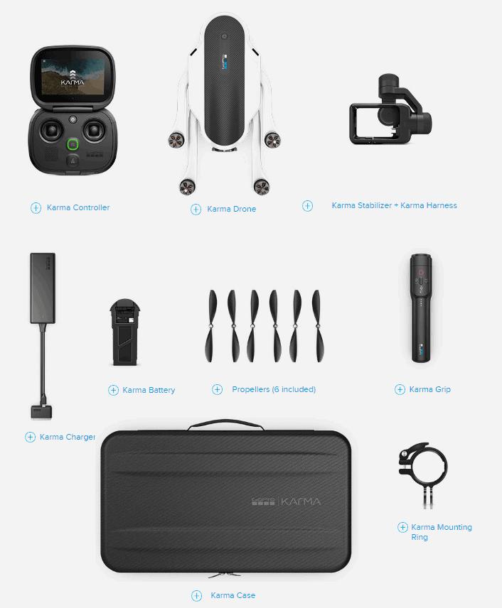 GoPro Karma drone kit
